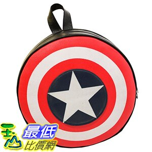 <br/><br/>  [美國直購] 美國隊長書包 Lily Bell Avengers Captain America Shield Student Backpack Book Bag<br/><br/>