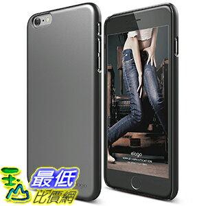[美國直購] elago iPhone 6S Plus Case, elago Slim Fit 2 - Matte Metallic Dark Gray - for iPhone 6S Plus  ..