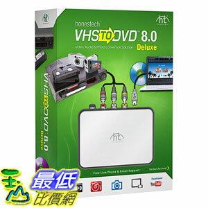 <br/><br/>  [美國直購] VIDBOX VHStoDVD 8.0 Deluxe 視頻採集套裝<br/><br/>