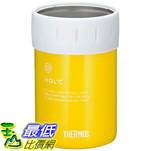 [東京直購] THERMOS JCB-351 Y 不鏽鋼 啤酒罐保冷杯 適用350ml鋁罐 7.5×7.5×11.5cm