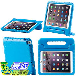 [美國直購] i-Blason iPadPro9.7-Kido-Blue Apple iPad Pro 9.7 2016 Case for Kids [ArmorBox Kido Series] 站立式 旋轉 藍色 平板 保護殼
