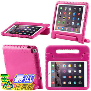 [美國直購] i-Blason iPadPro9.7-Kido-Pink Apple iPad Pro 9.7 2016 Case for Kids [ArmorBox Kido Series] 站立式 旋轉 紅色 平板 保護殼
