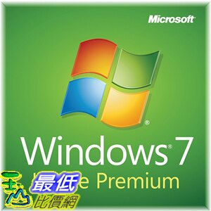 [美國直購] Windows 7 Home Premium SP1 64bit, System Builder OEM DVD 1 Pack (New Packaging)