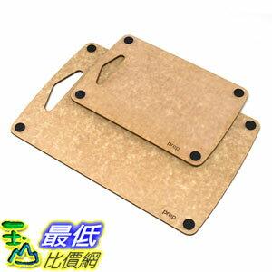 [美國直購] Epicurean 砧板 721-COMBO9-13 Prep Series Nonslip Cutting Boards Natural 9.5 X 6.5吋 13 x 8.5吋( C..