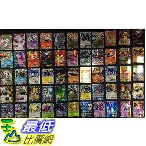 [美國直購] 神奇寶貝 精靈寶可夢周邊 Pokemon TCG : 100 CARD LOT RARE, COMMON, UNC, HOLO & GUARANTEED EX OR FULL ART
