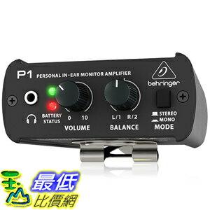 [美國直購] BEHRINGER POWERPLAY P1 In-ear monitor amplifier