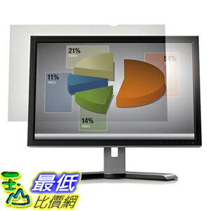 [美國直購] 3M AG23.0W9 Anti-Glare Filter 螢幕防眩光片(非防窺片) for Widescreen Desktop LCD Monitor 23吋 510 mm x 28..
