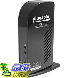 [美國直購] Plugable UD-ULTCDL 充電集線器 USB-C Triple Display Docking Station with Charging Support/Power Delivery for MacBook Retina