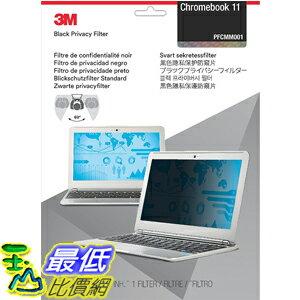 [美國直購] 3M PFCMM001 11.6W9 螢幕防窺片Privacy Filter for Chromebook 11 ,145 mm x 257 mm