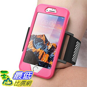 [美國直購] SUPCASE iphone7+ iPhone 7 Plus (5.5吋) Armband Case 粉紅色 [Unicorn Beetle PRO Series] 運動臂套 臂帶手機殼..