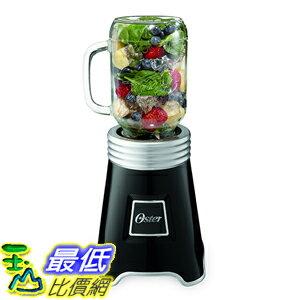 [美國直購] Oster BLSTPB-BALL-BK 梅森聯名 隨鮮瓶 果汁機 Blend N Go Mason Jar Blender with (2) 20 oz.黑色