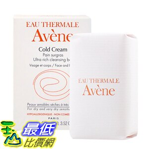[玉山最低比價網] 雅漾無皂基潔膚皂100g 公司貨中文標 (AVN044)
