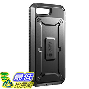 [美國直購] SUPCASE Apple iPhone 7 Plus (5.5吋) Case 黑色 [Unicorn Beetle PRO Series] 手機殼 保護殼 _O81