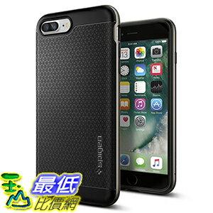 [美國直購] Spigen 043CS20535 軍灰色 iPhone 7 Plus (5.5吋) Case [Neo Hybrid] PREMIUM BUMPER 手機殼 保護殼