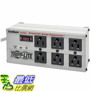 [美國直購] Tripp Lite ISOBAR6ULTRA 插座 Isobar 6 Outlet Surge Protector Power Strip 6ft Cord Right Angle P..