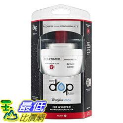 [104美國直購] Whirlpool EDR7D1 Ice and Refrigerator Water Filter 7 (新款取代UKF7003) 冰箱濾心