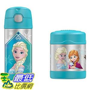 [美國直購] Thermos B01FURV97K Disney Frozen Funtainer Bottle & Food Jar 兒童保溫水壺