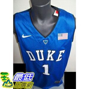 [美國直購] Duke Blue Devils #1 PARKER or #3 ALLEN Basketball Jersey BLUE S~3XL 籃球運動服