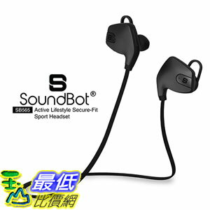 [美國直購] SoundBot SB565 耳機 Stereo Sports-Active Headset Water-Resistant Earbud High-Performance Earphone