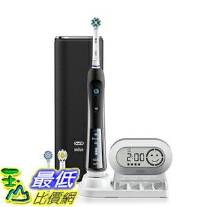 (美國直寄) 德國百靈 Oral-B-3D 藍芽 白金 勁靚 電動牙刷 P7000- 尊爵黑