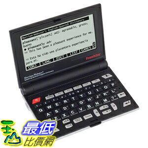 美國直購  Franklin BES2100 Spanish ~ English Electronic Speaking Dictionary 翻譯機