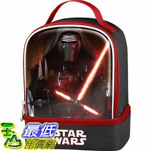 [美國直購] Thermos K35215006 星際大戰 原力覺醒 兒童午餐袋 午餐包 Star Wars Episode VII Dual Compartment Lunch Kit, Kylo ..