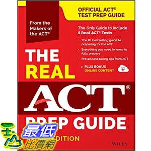 美國直購  2016美國暢銷書 The Real ACT Prep Guide  Boo