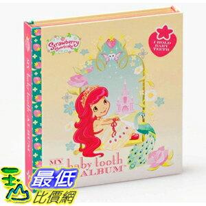 [美國直購] Baby Tooth Album 26185 乳齒保存盒/乳牙保存盒/乳牙盒/乳齒盒 Strawberry Shortcake\