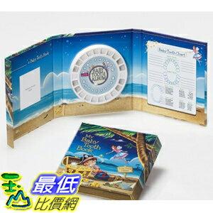 [美國直購] Baby Tooth Album 26182 乳齒保存盒/乳牙保存盒/乳牙盒/乳齒盒 Tooth Fairy Island Collection - Boy