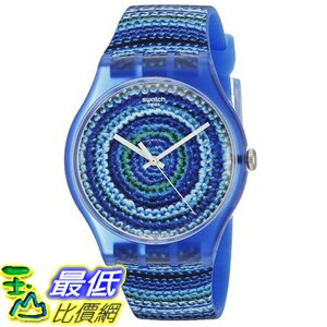 [美國直購] Swatch Unisex SUOS104 Analog Display Quartz Blue Watch 手錶