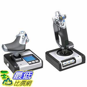 [美國直購] Logitech Saitek 飛行搖桿組 PS28 X52 Flight Control System