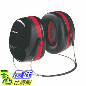 [美國直購] 3M Peltor H10B 耳罩 Optime 105 Behind-the-Head Earmuff with Neckband 頸後式 可載安全帽配戴 H10A可參考