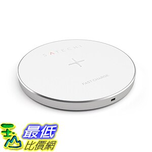 [美國直購] Satechi 金/灰/銀色 無線充電器 Charging Pad for Qi-enabled devices 適用Nexus, Samsung Galaxy, Note, LG, H..