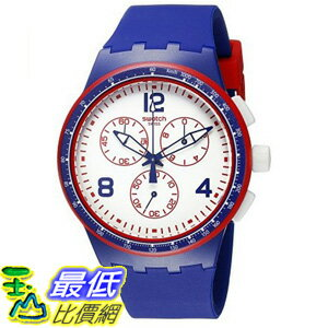 [美國直購] Swatch Unisex SUSZ100 Originals Analog Display Swiss Quartz Blue Watch 手錶