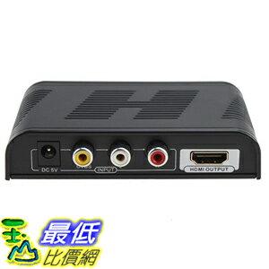 [美國直購] E-SDS High Definition 720P/1080P Mini AV Composite Video/Audio RCA CVBS to HDMI Converter 轉換盒