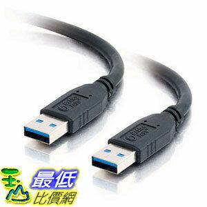 [美國直購] C2G / Cables To Go 54170 USB 3.0 A Male to A Male Cable, Black (1 Meter/3.2 Feet) 傳輸線