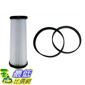 [106美國直購] Filter and Belt Kit for Dirt Devil Vacuums (F1 Filter, 4/5 Belts) 3JC0280000