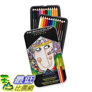 [美國直購] Prismacolor Premier Colored Pencils, Soft Core, 24-Count _TB0