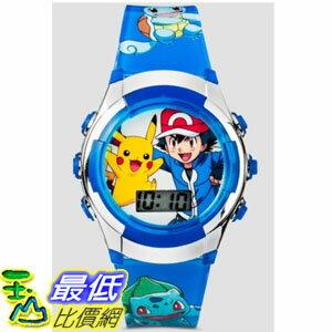 [美國直購] Kids Watch Pokemon Kids' Digital Display Quartz Watch Brand New Blue 手錶