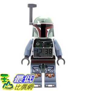 [美國直購] LEGO 9003530 Boba Fett 波巴 費特 人偶鬧鐘 Kids\