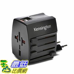[美國直購] Kensington K33998WW 萬用充電器 International Travel Adapter with 2.4 Amp Dual USB Ports