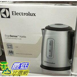 [COSCO代購 如果沒搶到鄭重道歉] 伊萊克斯快煮壺 ELECTROLUX KETTLE (1.5公升/1100瓦) W52439