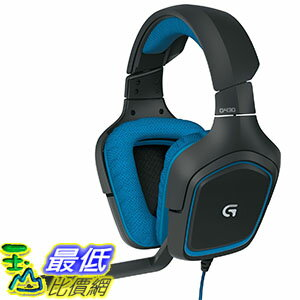 [美國直購] LOGITECH 981-000536 遊戲耳機 G430 DTS Headphone: X and Dolby 7.1 Surround Sound Gaming Headset