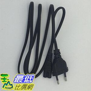 [玉山最低比價網] 歐規和中國大陸插頭 8字型電源線接頭 120cm  8字線 8字AC電源線 _h011