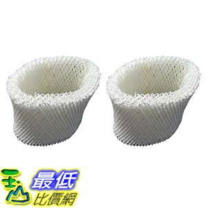 [106美國直購] 2 Vicks WF2 Humidifier Filters Fits Vicks V3500N V3100 V3900 Series V3700 Sunbeam 1118 Ser..