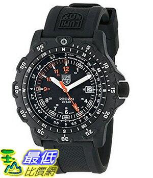 [美國直購] Luminox Men's 8821.KM Recon Pointman Black, Rubber Band, With Multi Color Accents Watch 手錶