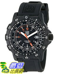 [美國直購] Luminox Men's 8821.KM Recon Pointman Black, Rubber Band, With Multi Color Accents Watch 手錶