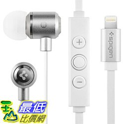 [美國直購] Spigen B01E4L4024 iPhone 7/7 Plus 手機專用 耳機 Headphones Earphones Apple MFI Approved Lightning Connector Port