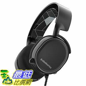 [美國直購] SteelSeries Arctis 3 黑色 電競 遊戲耳機 Gaming Headset with 7.1 Surround for PC, PlayStation 4, Xbox ..
