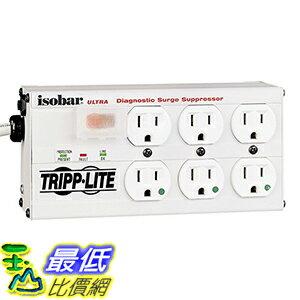 [美國直購] Tripp Lite ISOBAR6ULTRAHG 電源插座 Isobar 6 Outlet Medical Grade Surge Protector 15ft Cord